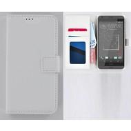 HTC Desire 530 Portemonnee Hoesje Wallet Book Case Wit