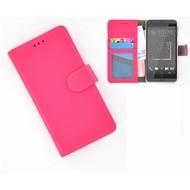 HTC Desire 630 Portemonnee Hoesje Wallet Book Case Roze