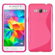 S-Style Tpu Siliconen Hoesje Samsung Galaxy J2 Prime - Roze