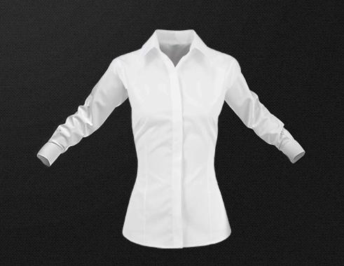 wit overhemd vrouwen