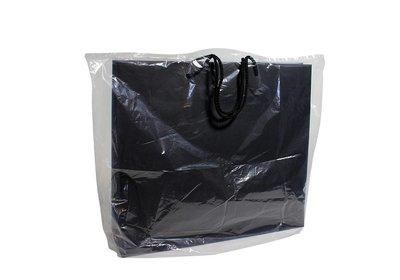 Plastic draagtas beschermtas transparant