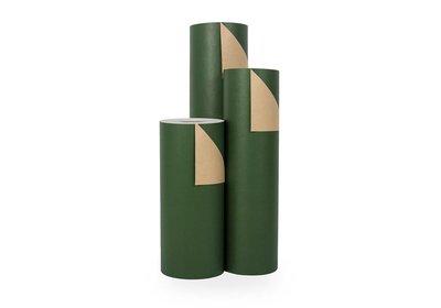 Kadopapier 30/50 cm 200 meter uni groen