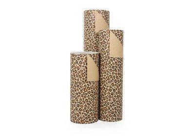 Kadopapier 30/50 cm 200 meter design tijger