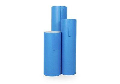 Kadopapier 30/50 cm 200 meter dubbelzijdig kobalt