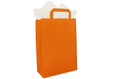 Papieren lus draagtas bedrukt met uw logo ca.10 werkdagen 4.3