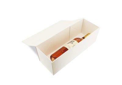 Luxe magneet doos wit voor 1 fles