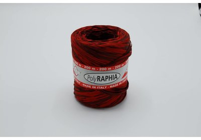 Raffialint 15mm 200m bordeaux