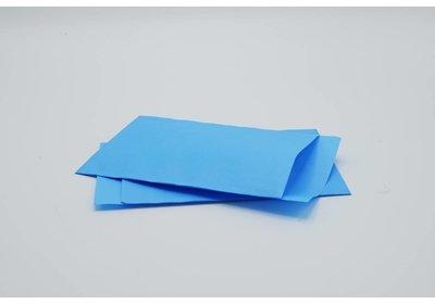 Luxe Accessoires zakje á 250 stuks  l.blauw Kraft