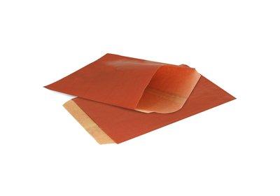 Papieren Kraft zakjes á 1000 stuks bordeaux