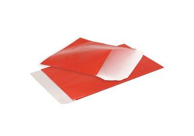 Luxe Accessoires zakje á 200 stuks glanzend rood