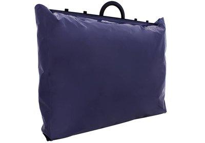 Plastic beugel draagtas Donkerblauw