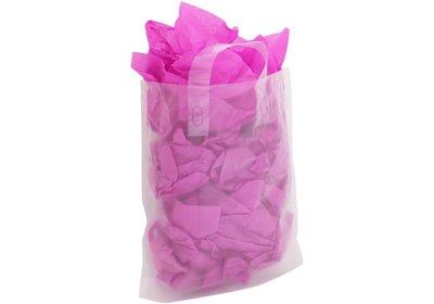 Plastic lus draagtas Semi-transparant