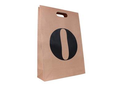 Papieren tas bedrukt met uw logo ca. 4 á 5 weken