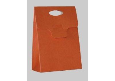 Triangeldoosje oranje SALE