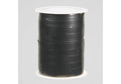 Krullint 10mm 250m metallic zwart