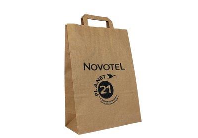 Papieren lus draagtas bedrukt met uw logo ca.10 werkdagen 4.1