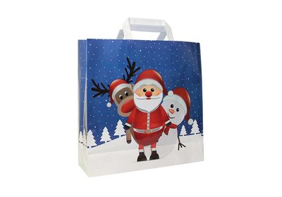 PP shopper Kerst christmas friends