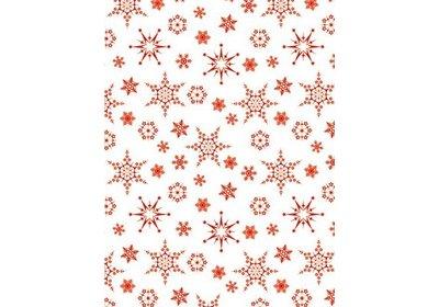 Kadopapier 50 cm 200 meter christmas red