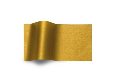 Vloeipapier Metallic Gold