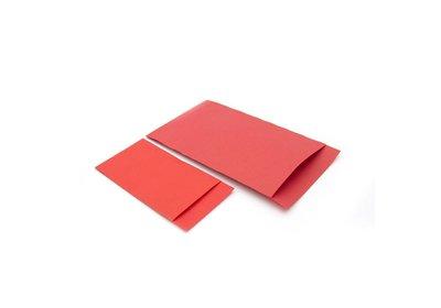 Luxe Accessoires zakje á 250 stuks  rood Kraft