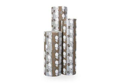 Kadopapier 30/50 cm 250 meter design schaap