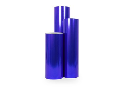 Kadopapier 30/50 cm 150 meter matallic blauw