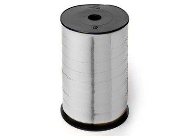 Krullint 10mm 250m metallic zilver
