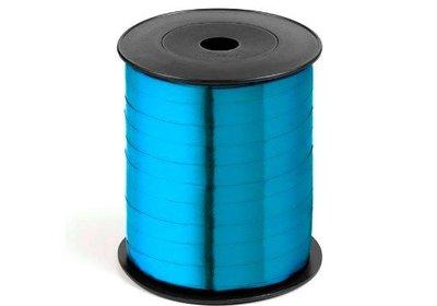 Krullint 10mm 250m metallic lichtblauw