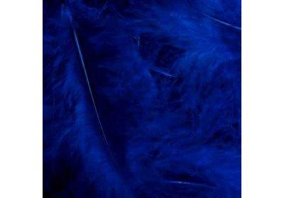Veertjes in box blauw