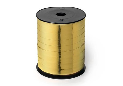 Krullint 10mm 250m metallic goud