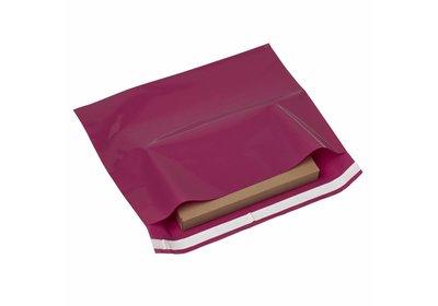 Plastic budget verzendzakken Pink á 250 stuks