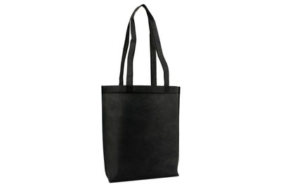 Non Woven draagtas met lus Zwart