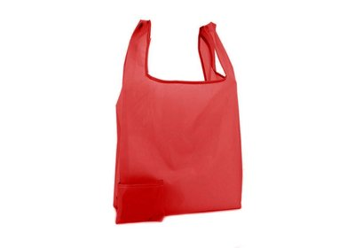 Polyester Shop-in-Bag Rood