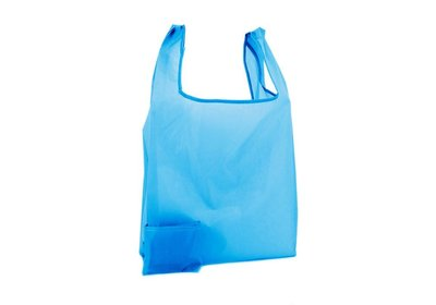 Polyester Shop-in-Bag Blauw