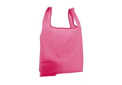Polyester Shop-in-Bag Fuchsia