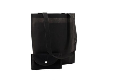 Non Woven Shop-in-Bag Zwart
