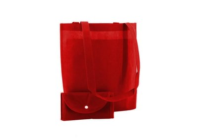 Non Woven Shop-in-Bag Rood