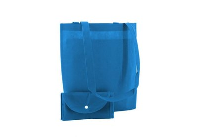 Non Woven Shop-in-Bag Aqua Blauw