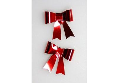 Vlinderstrikje rood 50 stuks