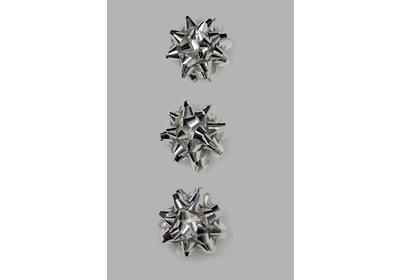 Starbow mini metallic zilver 100 stuks