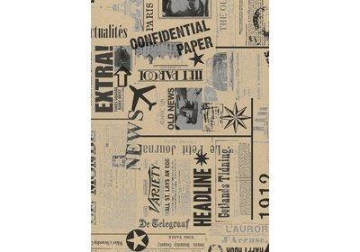 Kadopapier 30/50 cm 250 meter design News Recycled paper
