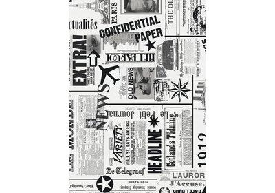 Kadopapier 30/50 cm 200 meter News Coated paper