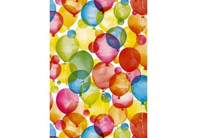 Kadopapier 30/50 cm 200 meter Balloons Coated paper