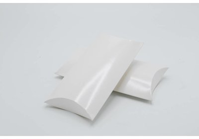 Gondeldoosje Wit + glans laminaat verpakt á 100 stuks
