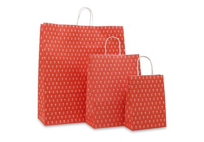 Papieren twisted draagtas Royal