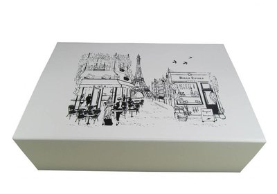 Luxe magneet doos bedrukt met uw logo ca.10 werkdagen 11.2