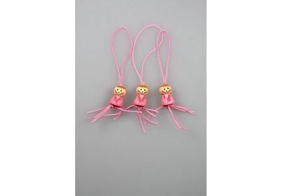 Gelukspoppetjes baby roze100 stuks