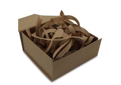 Bruin kraft papier opvulmateriaal á 5 kg per doos