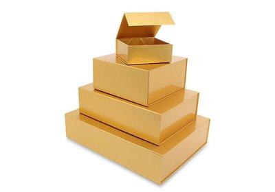 Luxe magneet doos Goud + Glans laminaat
