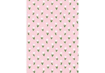 Kadopapier 30/50 cm 200 meter Small tulips